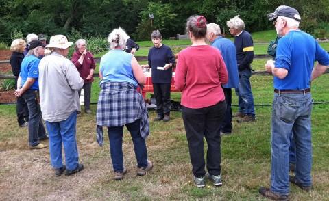 Buck Lake Native Plant Garden Volunteers